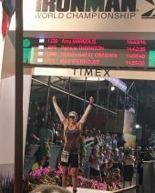 Ironman finishline